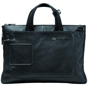 Мужская сумка Piquadro Blue Vibe (CA1618VI/N) черного цвета