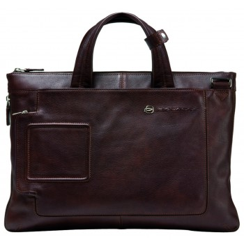Мужская сумка Piquadro Blue Vibe (CA1618VI/TM) коричневого цвета