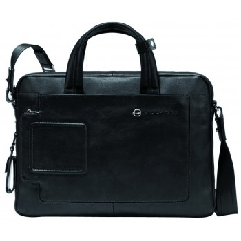 Мужская сумка Piquadro Blue Vibe (CA1903VI/N) черного цвета