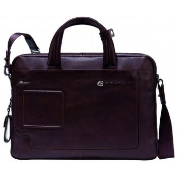 Мужская сумка Piquadro Blue Vibe (CA1903VI/TM) темно-коричневого цвета