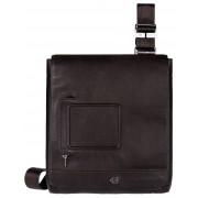 Мужская сумка через плечо Piquadro Vibe (CA2966VI/TM) темно-коричневого цвета