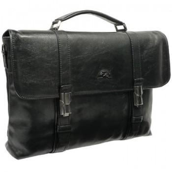 Кожаный портфель Tony Perotti 330006 black