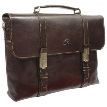 Кожаный портфель Tony Perotti 330006 brown