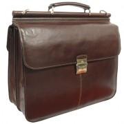 Портфель Tony Perotti 331210 brown XXL