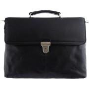 Кожаный портфель Tony Perotti 3034191 black