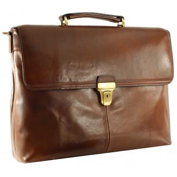 Кожаный портфель Tony Perotti 3034192 brown