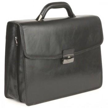Кожаный портфель Tony Perotti 3311101 black