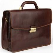 Кожаный портфель Tony Perotti 3311102 brown