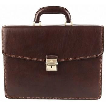 Кожаный портфель Tony Perotti 3312092 brown