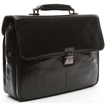 Кожаный портфель Tony Perotti 3313551 black