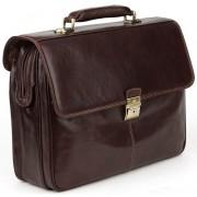 Кожаный портфель Tony Perotti 3313552 brown