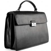 Кожаный портфель Tony Perotti 3314601 black