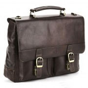 Кожаный портфель Tony Perotti 3314622 brown