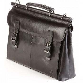 Кожаный портфель Tony Perotti 3314641 black