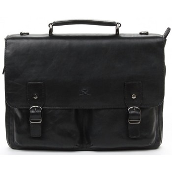 Кожаный портфель Tony Perotti 3330651 black