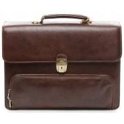 Кожаный портфель Tony Perotti 3331332 brown