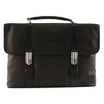 Кожаный портфель Tony Perotti 6100061 black