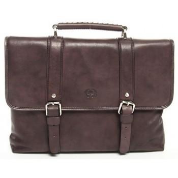 Кожаный портфель Tony Perotti 7432712 brown