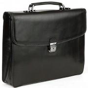 Кожаный портфель Tony Perotti 3312781 black