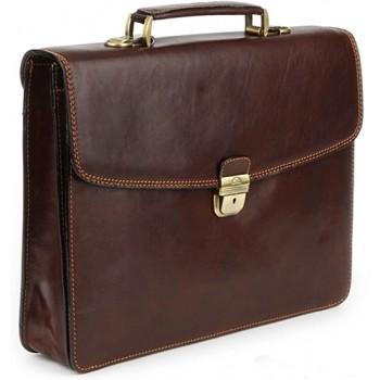 Кожаный портфель Tony Perotti 3312782 brown