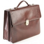Кожаный портфель Tony Perotti 3332002 brown