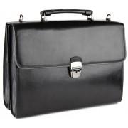 Кожаный портфель Tony Perotti 3332811 black