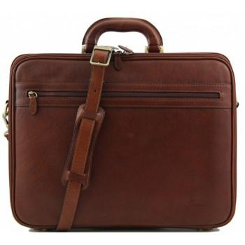 Сумка для ноутбука Tuscany Leather Milano FC140711 brown