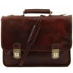 Кожаный портфель Tuscany Leather Firenze TL10028 brown