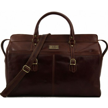 Дорожная сумка Tuscany Leather Budapest TL10130 brown