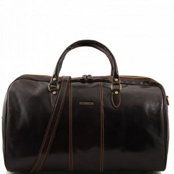 Дорожная сумка Tuscany Leather Lisbon TL10131 dark brown