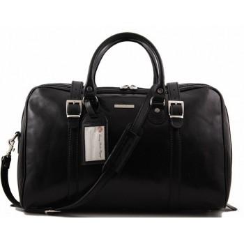 Дорожная сумка Tuscany Leather Berlin  - Малый размер TL1014 black