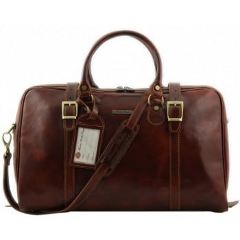 Дорожная сумка Tuscany Leather Berlin  - Малый размер TL1014 brown