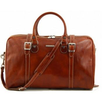 Дорожная сумка Tuscany Leather Berlin  - Малый размер TL1014 honey