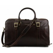 Дорожная сумка Tuscany Leather Berlin  - Малый размер TL1014 dark brown