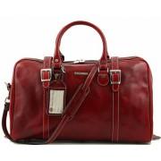 Дорожная сумка Tuscany Leather Berlin  - Малый размер TL1014 red