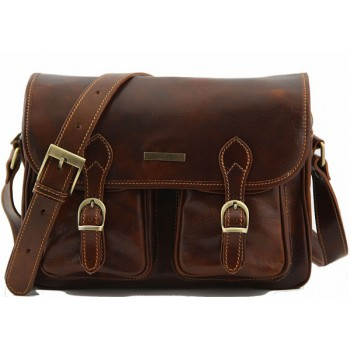 Дорожная сумка Tuscany Leather San Marino TL10180 brown