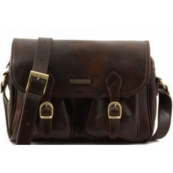 Дорожная сумка Tuscany Leather San Marino TL10180 dark brown