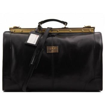 Саквояж Tuscany Leather Madrid - Большой размер TL1022 black