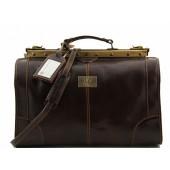 Саквояж Tuscany Leather Madrid - Малый размер TL1023 dark brown