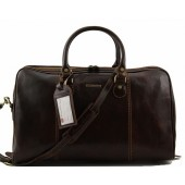 Дорожная сумка Tuscany Leather Paris TL1045 dark brown