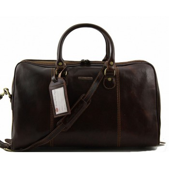 Дорожная сумка Tuscany Leather Paris TL1045 dark brown