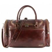 Дорожная сумка Tuscany Leather Prague TL1048 brown