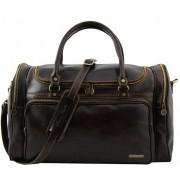 Дорожная сумка Tuscany Leather Prague TL1048 dark brown