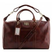 Дорожная сумка Tuscany Leather Amsterdam TL1049 brown