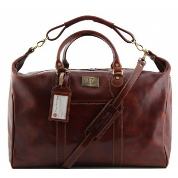 Дорожная сумка Tuscany Leather Amsterdam TL1049 brown