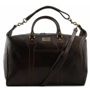 Дорожная сумка Tuscany Leather Amsterdam TL1049 dark brown