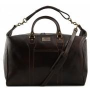 Дорожная сумка Tuscany Leather Amsterdam TL1049 dark brown