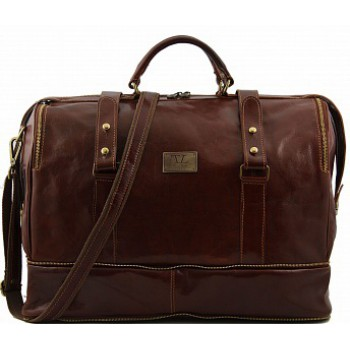 Дорожная сумка Tuscany Leather Bruxelles TL1083 brown
