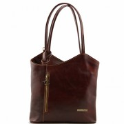 Сумка женская Tuscany Leather Patty TL140691 brown