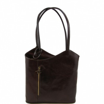 Сумка женская Tuscany Leather Patty TL140691 dark brown